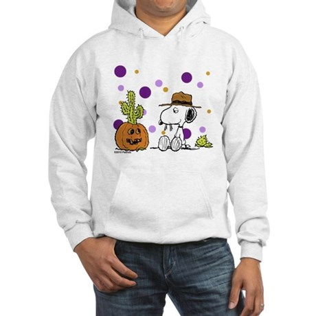 Spikey Halloween Hooded Sweatshirt