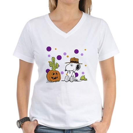 Spikey Halloween Women's V-Neck T-Shirt