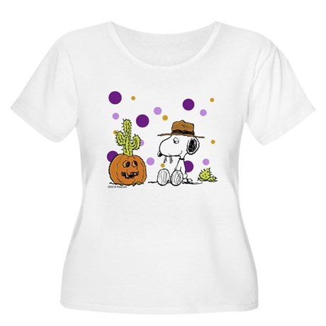 Spikey Halloween Women's Plus Size Scoop Neck T-Sh