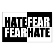 Hate Fear/Fear Hate Decal
