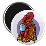 Bird Flu Free Magnet