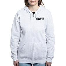 Custom Anchor #1 Zip Hoodie
