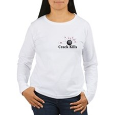 Crack Kills Logo 6 T-Shirt Des
