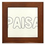 PAISA Framed Tile