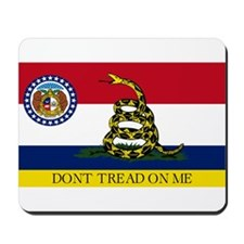 Dont Tread on Me Missouri Mousepad