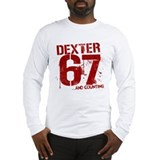 Dexter 67 kills and counting Long Sleeve T-Shirt