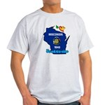 ILY Wisconsin Light T-Shirt