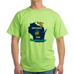 ILY Wisconsin Green T-Shirt