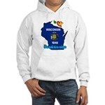 ILY Wisconsin Hooded Sweatshirt