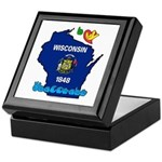 ILY Wisconsin Keepsake Box