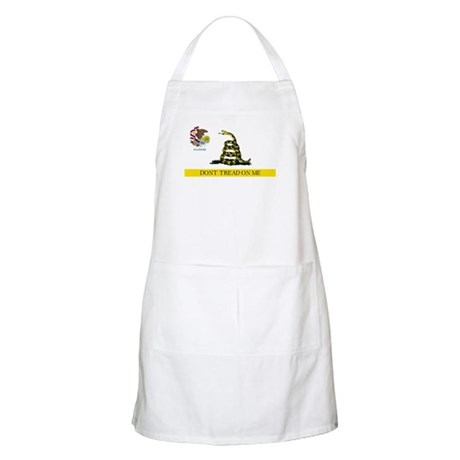 Don't Tread on Me Illinois Apron