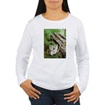Old Wood Women's Long Sleeve T-Shirt