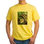 Old Wood Yellow T-Shirt