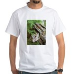 Old Wood White T-Shirt