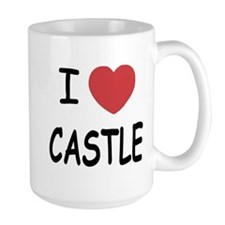 I heart Castle Large Mug