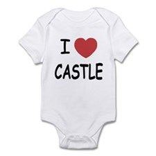I heart Castle Infant Bodysuit