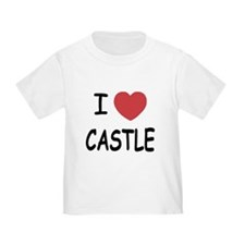 I heart Castle Toddler T-Shirt