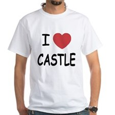 I heart Castle White T-Shirt