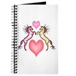2 Rearing Horses / Hearts Journal