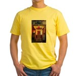 Dockside Lobster and Seafood Yellow T-Shirt
