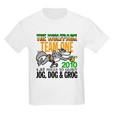 Wolfpack Jog, Dog & Grog TEAM T-Shirt