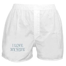 LOVE WIFE/PLAY POKER Boxer Shorts