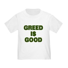 Greed is Good T