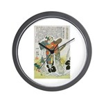 Samurai Warrior Oda Nobunaga Wall Clock