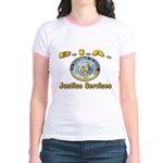 B.I.A. Justice Services Jr. Ringer T-Shirt