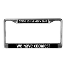 The Dark Side License Plate Frame