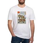 Samurai Warrior Imagawa Yoshimoto Fitted T-Shirt