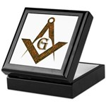 Masonic Antient F&AM Keepsake Box