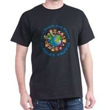 One people One planet Baha'i T-Shirt