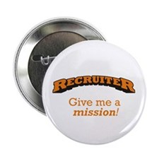 "Recruiter - Mission 2.25"" Button (100 pack)"