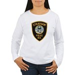 Stratham NH Police Women's Long Sleeve T-Shirt