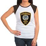 Stratham NH Police Women's Cap Sleeve T-Shirt