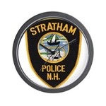 Stratham NH Police Wall Clock