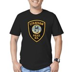 Stratham NH Police Men's Fitted T-Shirt (dark)