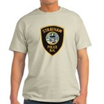Stratham NH Police Light T-Shirt