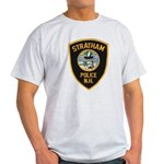 Stratham NH Police Light T-Shirt