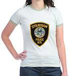Stratham NH Police Jr. Ringer T-Shirt