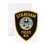 Stratham NH Police Greeting Cards (Pk of 10)