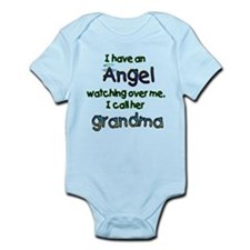 ANGEL NAMED GRANDMA Infant Bodysuit