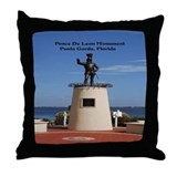 Punta Gorda Florida Throw Pillow