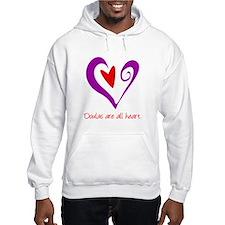 Doulas All Heart Purple Hoodie