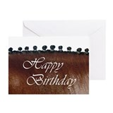 Birthday Braids Bay Horse 2 Greeting Cards (6)