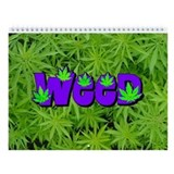 Weed Marijuana Wall Calendar