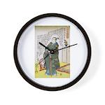 Warrior Takenaka Hanbee Shigeharu Wall Clock