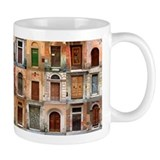 Italian Old Doors Ceramic  Tasse