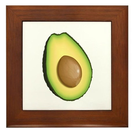 Avocado Framed Tile
